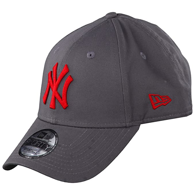 New Era Caps League Essential 9forty New York Yankees Grey Red Unica