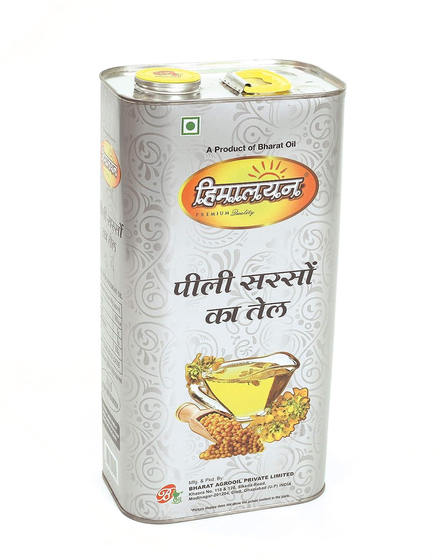 Himalayan Brand Yellow Mustard Oil