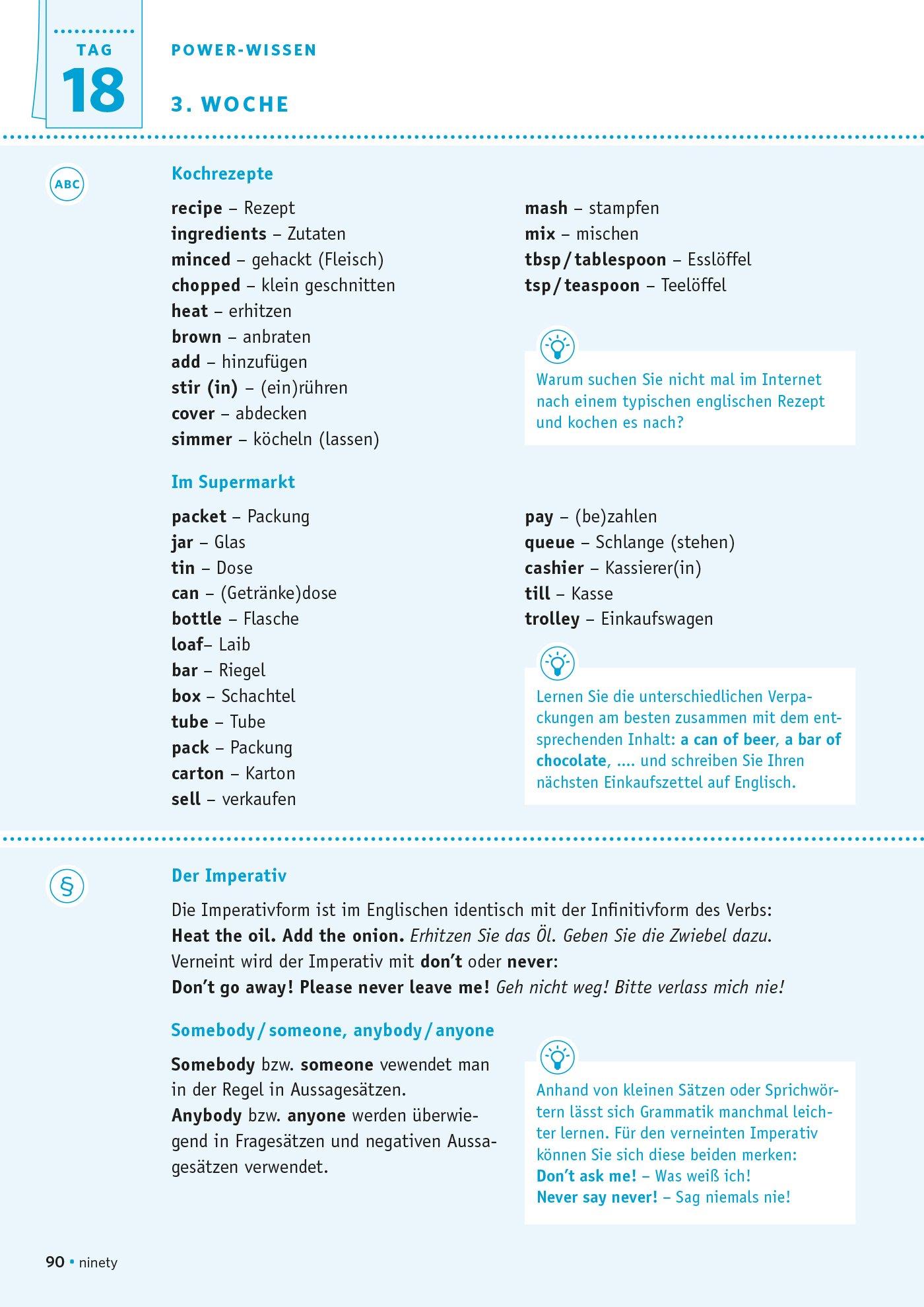 PONS Power-Sprachkurs Englisch in 4 Wochen: Lernen Sie in idealen ...