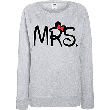 le prix reste stable bons plans sur la mode boutique de sortie TRVPPY - Sweat Pull, modèle Mr & Mrs Mickey Minnie - Homme ...