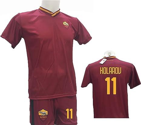 Conjunto de Camiseta de fútbol Roma Kolarov 11 + pantalón ...