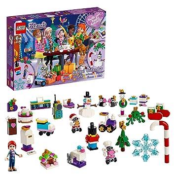 Calendrier De Lavent Jouet Fille.Lego Friends Le Calendrier De L Avent Lego Friends 2019 Jouet Pour Fille Et Garcon 6 Ans Et Plus 330 Pieces 41382