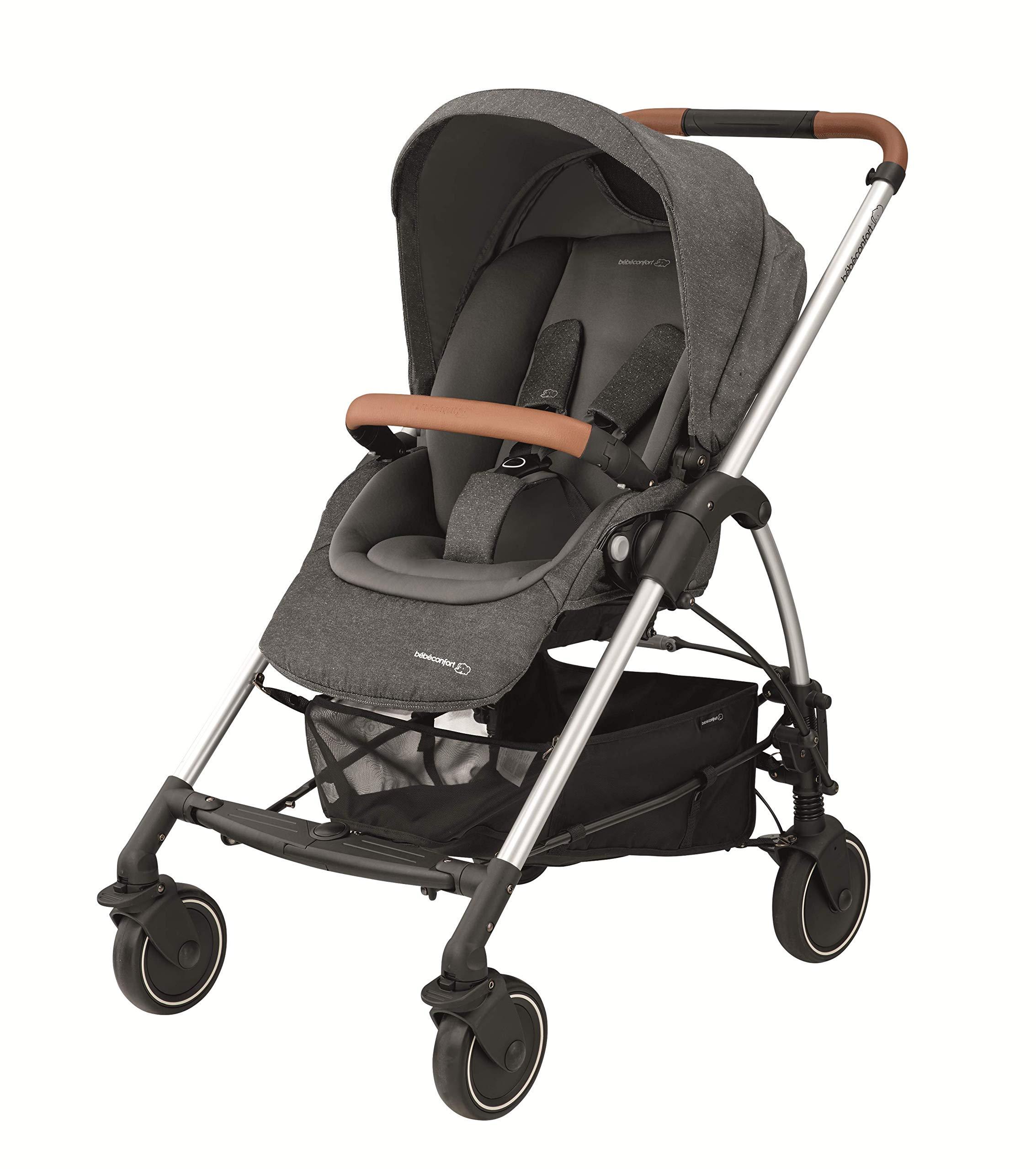 Bébé Confort Poussette Mya Compacte et Citadine, Habillage Pluie Inclus Sparkling Grey product image