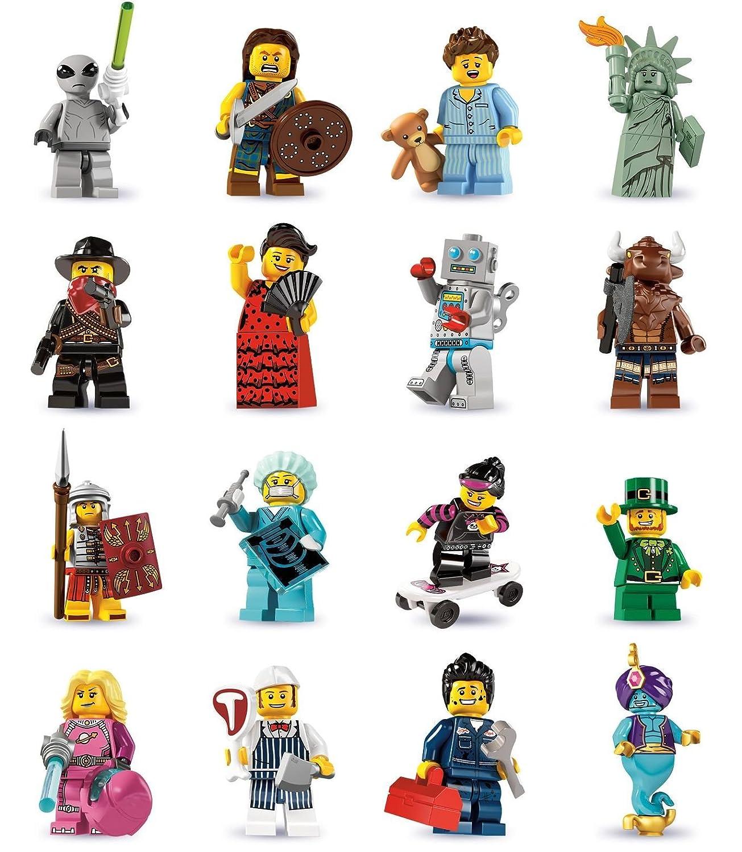 LEGO ® Minifigur Sammelserie 6 8827 Schlafmütze NR.3