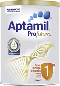 Aptamil Profutura 1 Premium Infant Formula for Birth to 6 Months Babies, 900 g