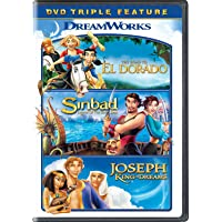 Deals on The Road to El Dorado / Sinbad / Joseph: King of Dreams DVD