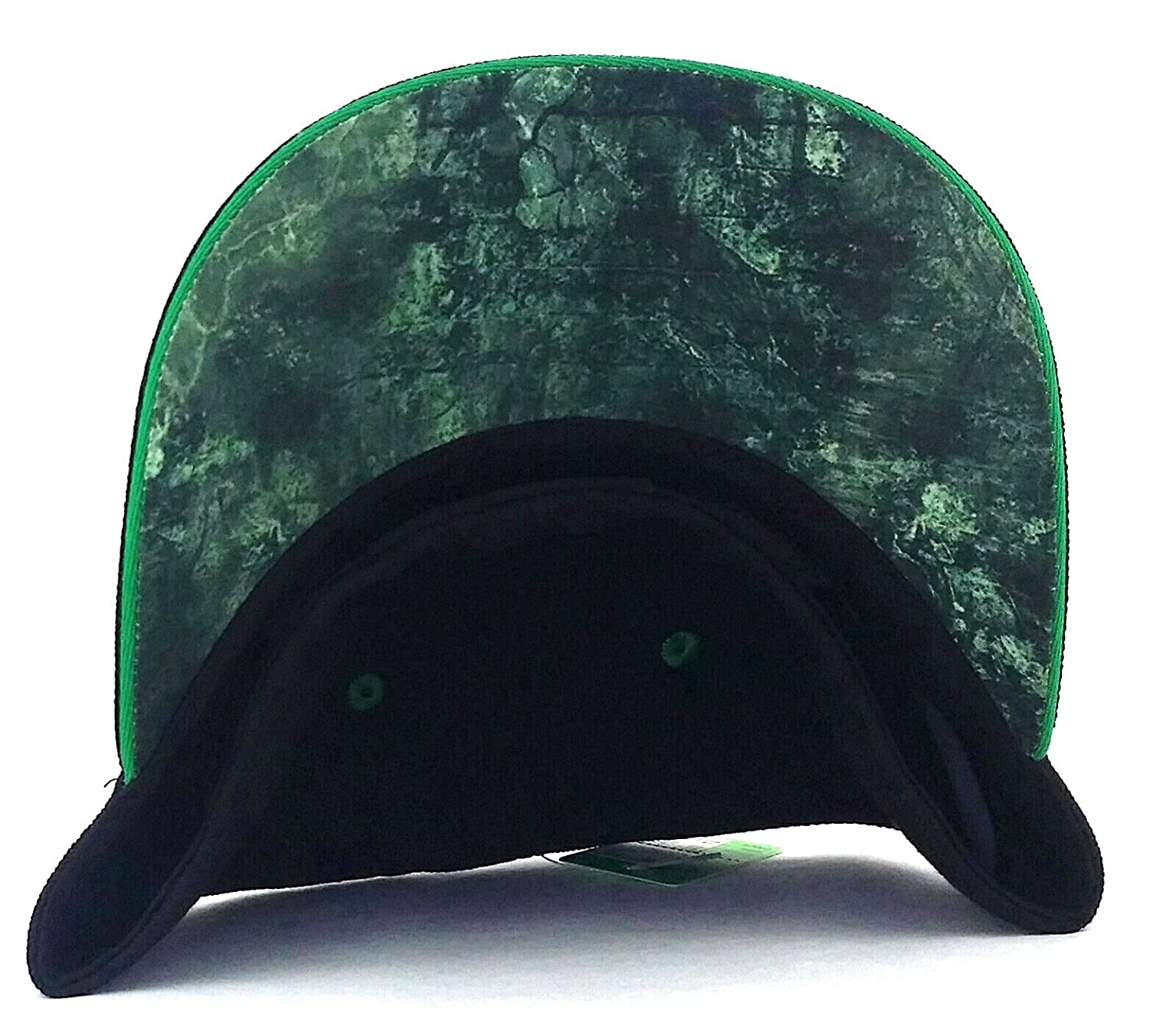 a8e4d24187bc9 UFC Reebok RBK MMA Black Red Green Octagon Fighters Flex Fit Fitted ...