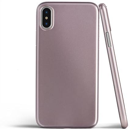 Amazon Com Totallee Iphone X Case Thinnest Cover Premium Fit Ultra