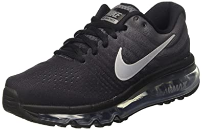 check out deebc 1fbf6 Nike Air Max 2017 (Gs), chaussure de sport garçon, Nero (Black