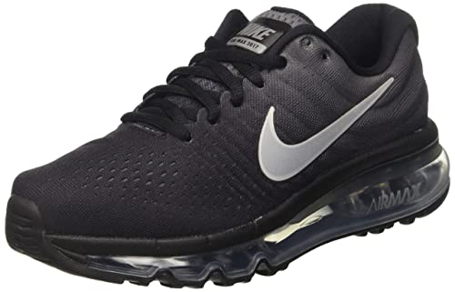 on sale cdac5 72c37 Nike Men s Black Mesh Air Max Shoes - 37.5 EU