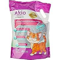 Areia Sanitaria Bentonita Cat Litter Premium Akio 5kg