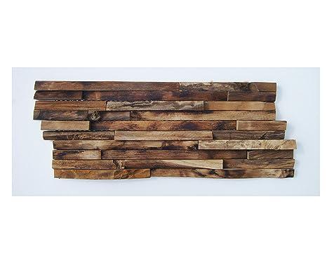 Ho mq teak legno parete ver blender su rete radica