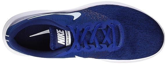 Amazon.com | Nike Mens Flex Contact Running Shoe (8.5 M US, Gym Blue/White-Binary Blue) | Running