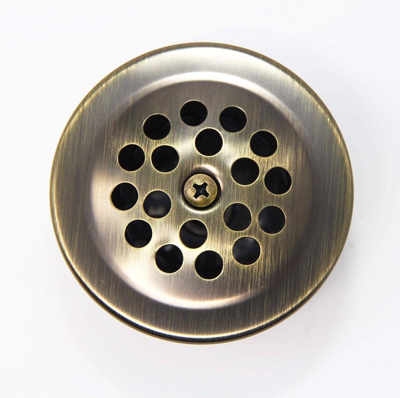 Bathtub Strainer, Cover /& Trip Lever Waste /& Overflow Face Plate PF WaterWorks PF0972-CH Trip Bath Tub Drain Trim Kit -Coarse 11.5 Threads Per Inch Chrome