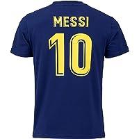 Morefootballs – Officiell Lionel Messi FC Barcelona Trikot för barn – 2020/2021 – 128 – FCB kort ärm tröja med Messi…