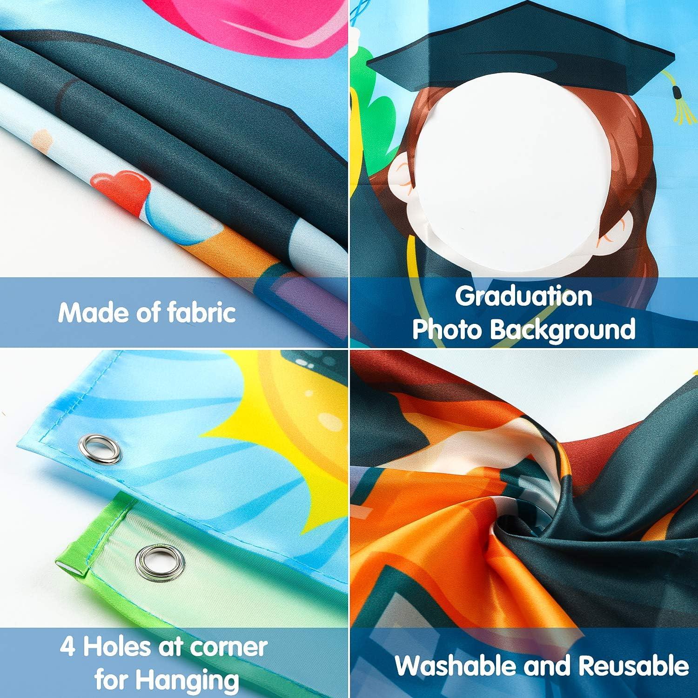 8.5 x 11 White Pre-K Grad Photo Prop Pre-K Graduate 2018 Pre-K Graduation Sign Black and Gold Photo Booth Instant Download