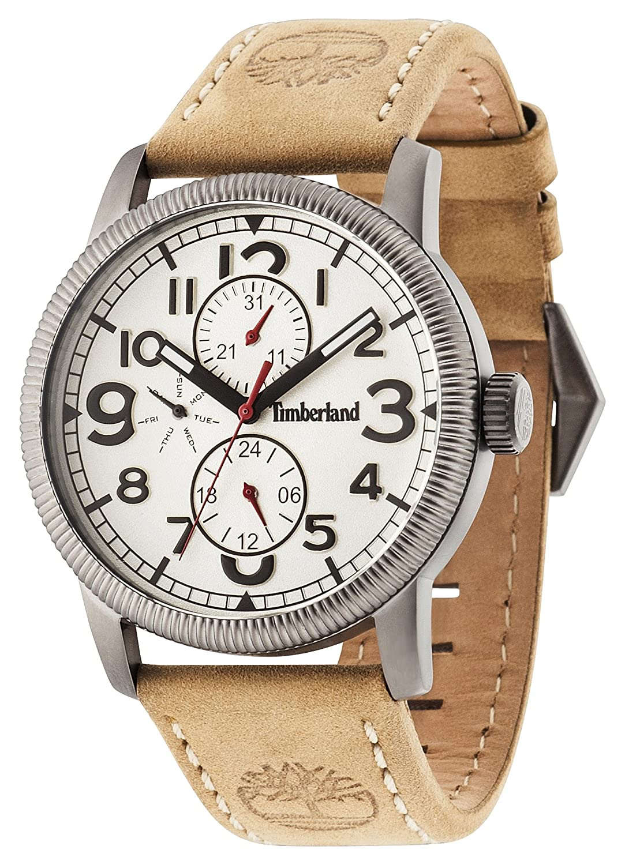 Timberland Herren-Armbanduhr Erving Analog Quarz 14812JSU-07
