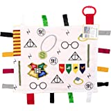 Educational Learning Lovey Ribbon Tag Security Blankets (Wizard)
