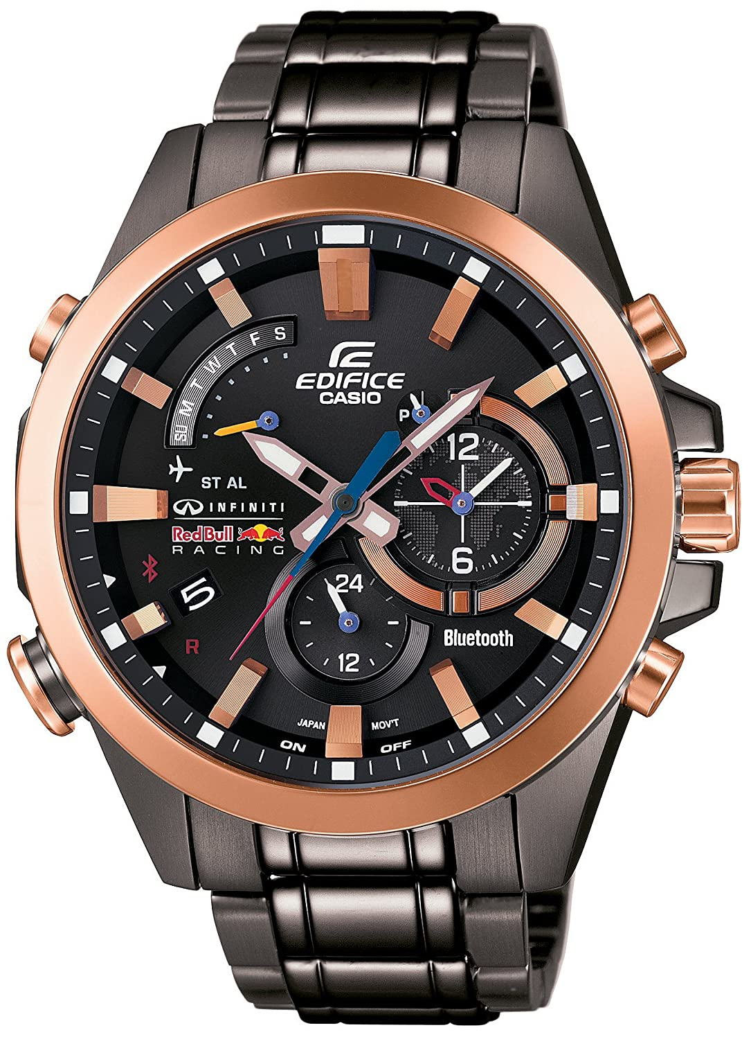 Casio Edifice Infiniti Red Bull Racing EQB-510RBM-1AJR - Reloj inteligente con Bluetooth: Amazon.es: Relojes