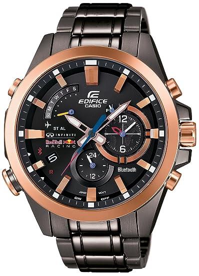 Casio Edifice Infiniti Red Bull Racing EQB-510RBM-1AJR - Reloj inteligente con Bluetooth: Amazon.es: Relojes
