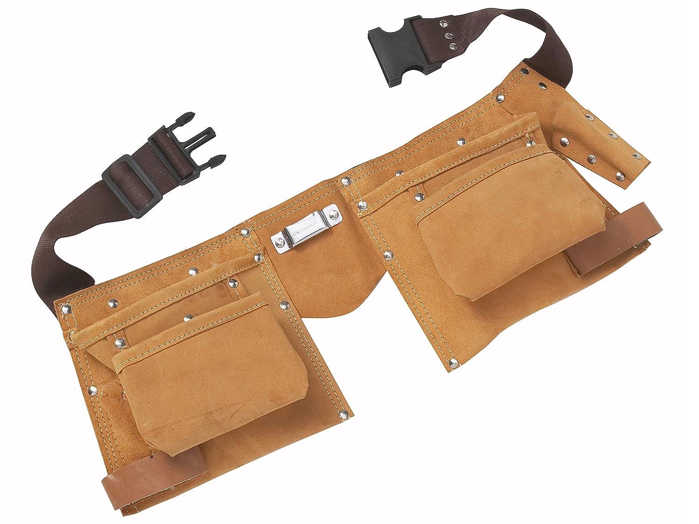 Blue Spot 16332 Double sac /à outils en cuir
