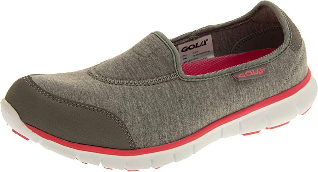 Womens Go Walking Get Fit Trainers Sport Shoes Athletic Walk Fitness Shoes Sport Gym Deck Shoes Size 3-8
