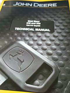 John deere 250 skid steer oem service manual john deere manuals john deere skid steer 240 250 technical manual tm1747 fandeluxe