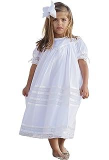 f9b8dc61536 Strasburg Children Girls Lace Flower Girl Dress Vintage Heirloom Portrait  Baptism Dresses Easter