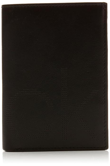 Calvin Klein Jeans - Ck Point Ns 8cc Coin Pass, Carteras Hombre, Negro (