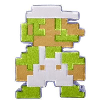 World of Nintendo 8 Bit Luigi Plush: Toys & Games