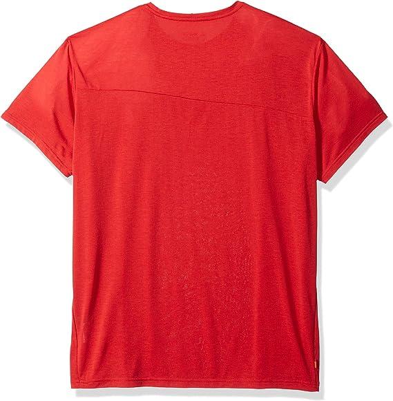 Vaude sveit t-shirt wool función camisa rojo