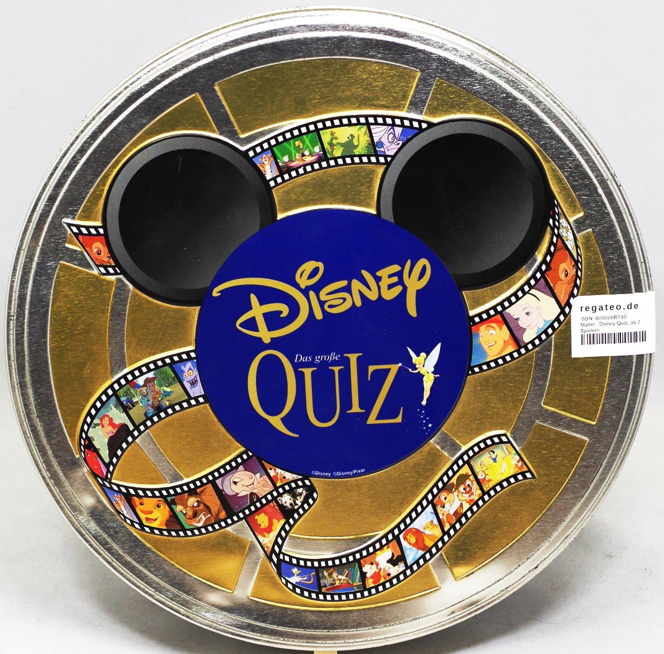 Mattel - Disney Quiz, ab 2 Spielern