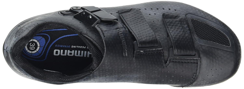 Shimano Scarpe per Bici da Corsa Chiusura in Velcro//a cricchetto SH-RP5L Misura 50 Adulti ESHRP5NG500SL00 SPD-SL