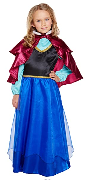 Henbrandt Ice Princess Girls Costume Age 7-8