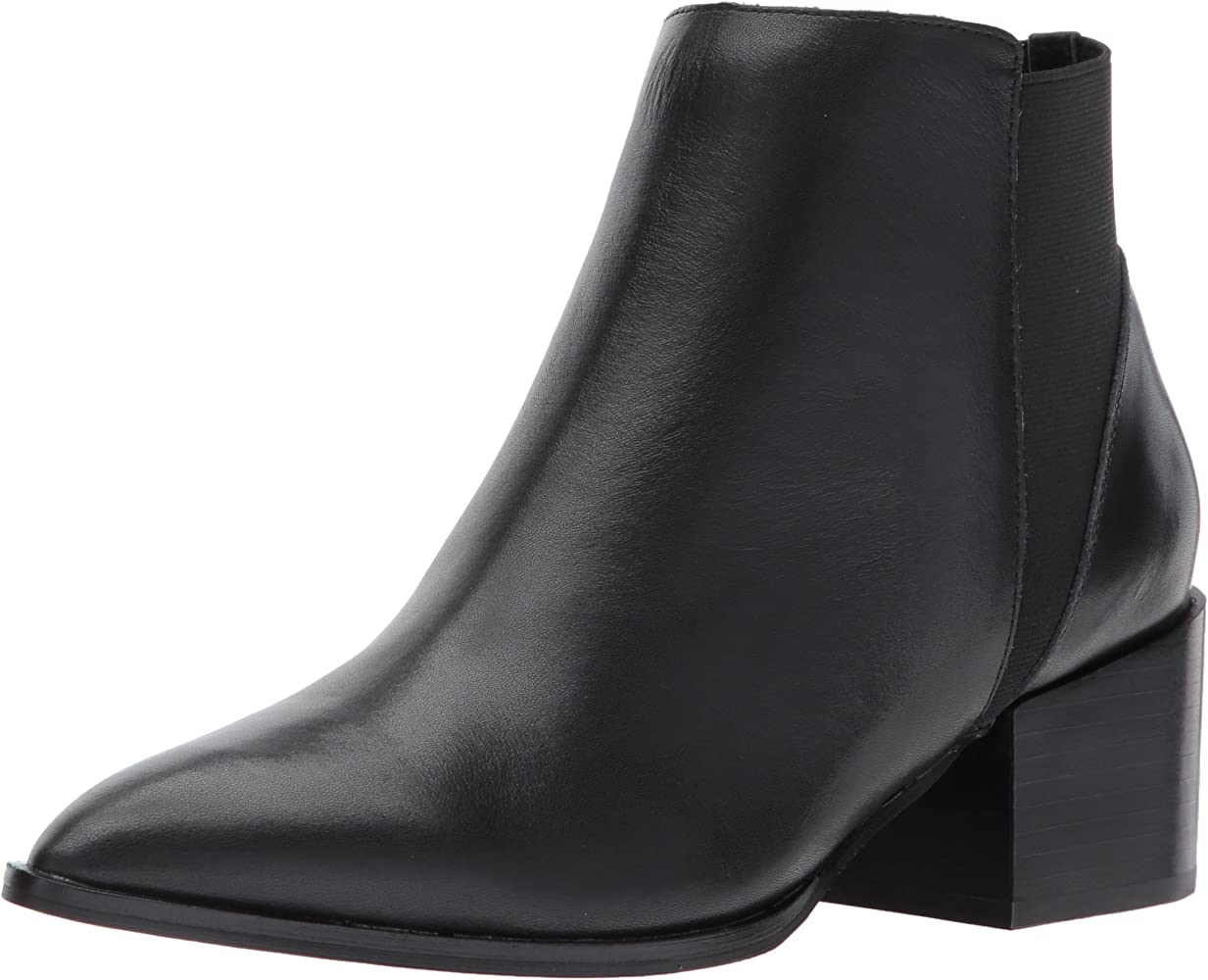 Finn Ankle Bootie, Black Leather