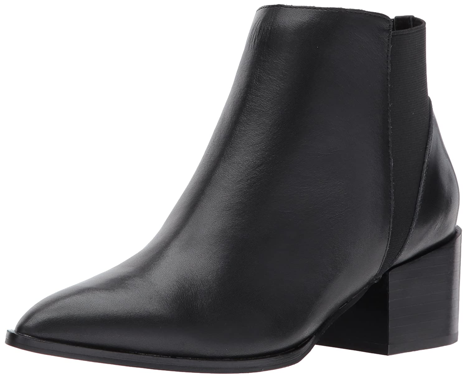 Chinese Laundry Women's Finn Ankle Bootie B0713ZDVXQ 8.5 B(M) US|Black Leather