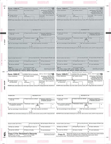 1099 form amazon  Amazon.com : Next Day Labels Pressure Seal 6 Forms (6R ...