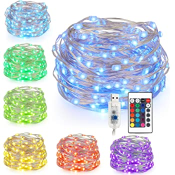 Amazon Com Brighttouch Mini Led String Lights Powered