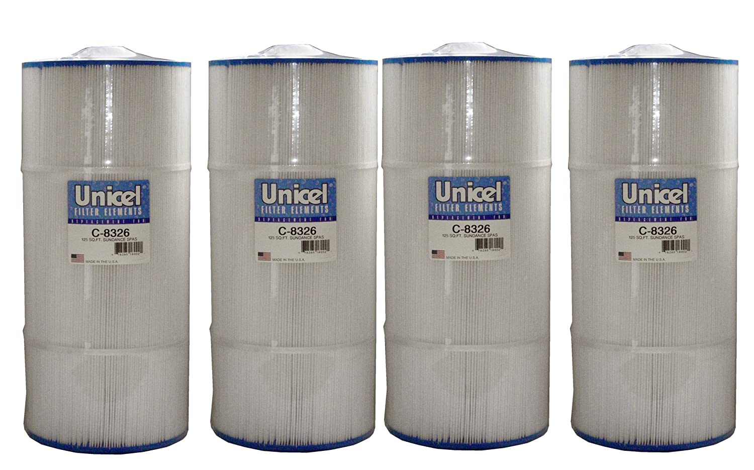 Pool Filter, Replaces Unicel # C-8326 for Swimming Pool and Spa Unicel - Distribution