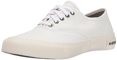 SeaVees Womens 06 64 Legend Pan AMFashion Sneaker       Bleach