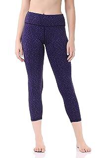 0d01e16c41c87 Pau1Hami1ton Women's Yoga Pants High Waist Capri Leggings 3/4 Tummy Control  Gym Trousers Workout