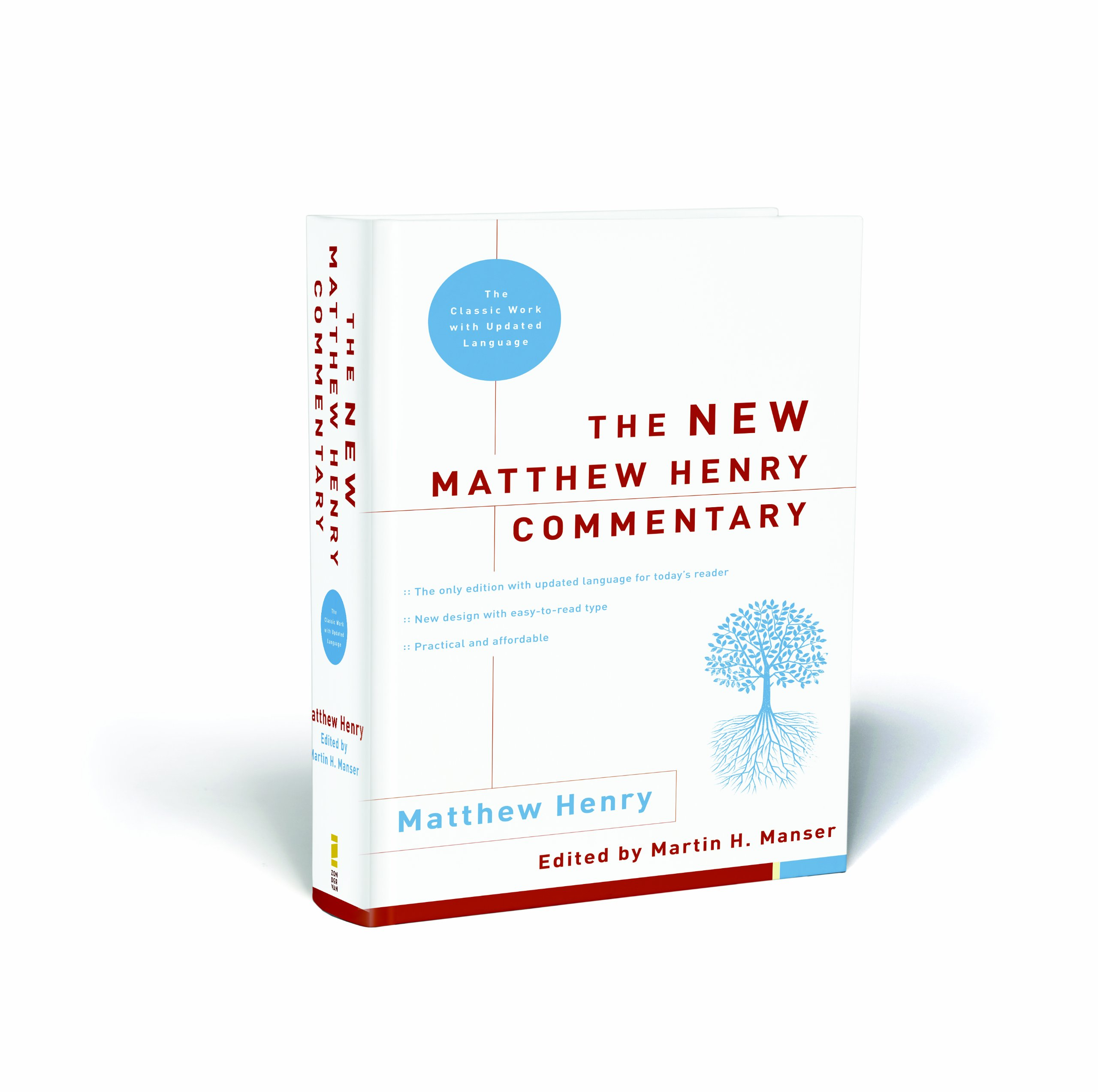 The New Matthew Henry Commentary: The Classic Work with Updated Language by HarperCollins Christian Pub.