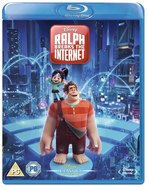 f58087d87 Ralph Breaks the Internet (Blu-Ray) [2018]: Amazon.co.uk: DVD & Blu-ray
