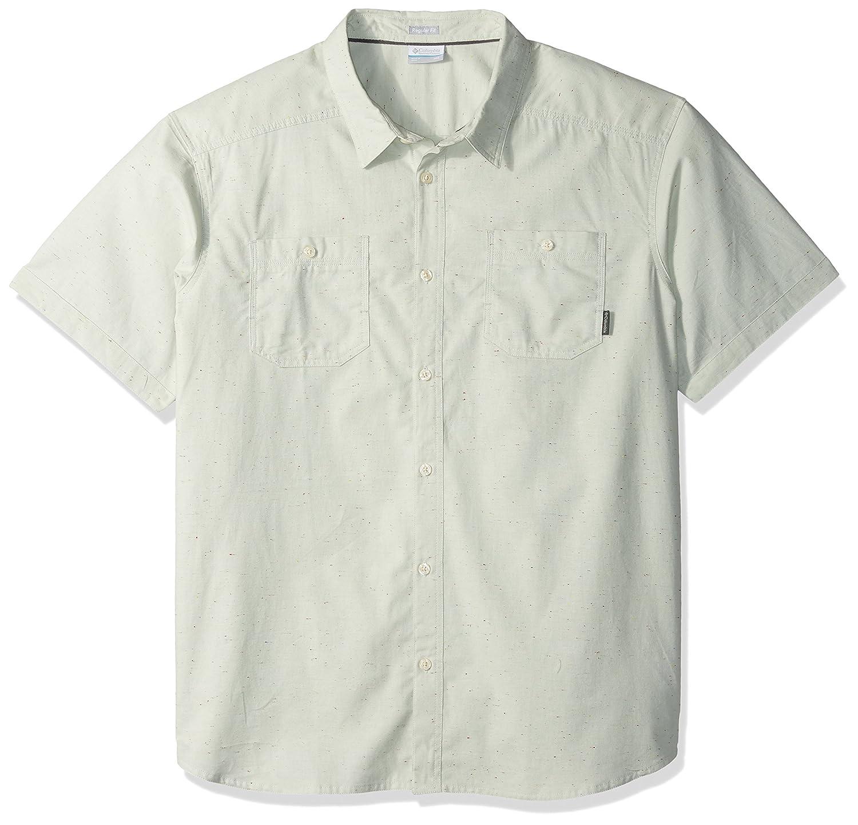 コロンビアメンズセージButte半袖シャツ US サイズ: L カラー: グリーン B01GOQV1OW  Cool Green Neps L