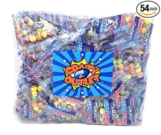 Sweetarts - Paquete de aperitivos para caramelos, tamaño ...