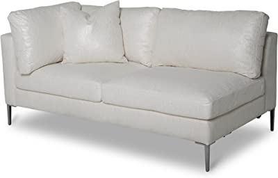 Amazon Com Edloe Finch Modern Leather Sofa Mid Century