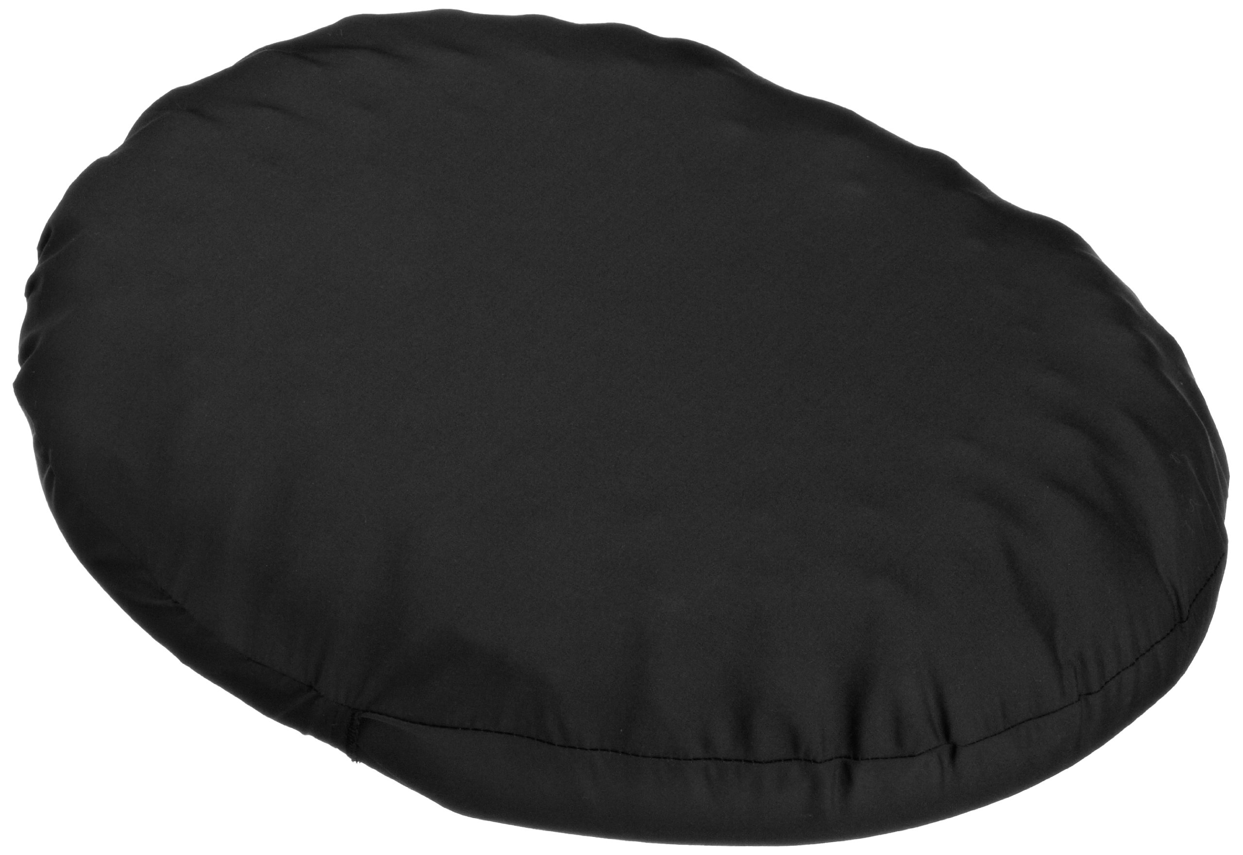 Hermell Products Convoluted Comfort Ring/Cushion with Black Fabric