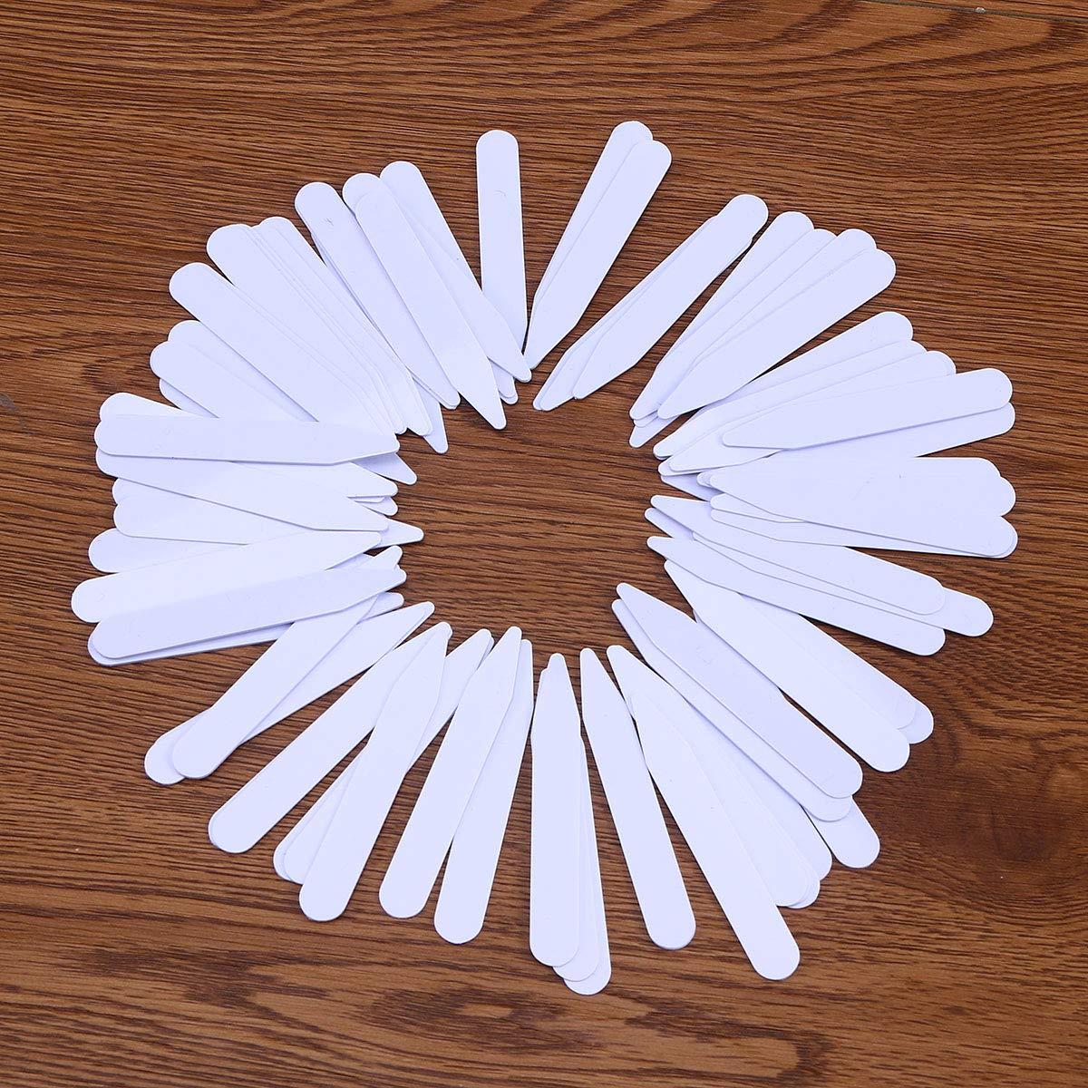 SUPVOX Stecche Camicia Colletto tendicollo Camicia 200 Pezzi 5cm 6.2cm 7cm