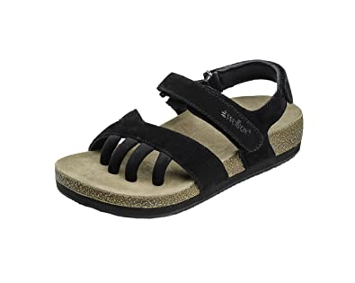 Wellrox Women's Terra-Dune Black Casual Sandal 11