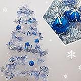 クリスマスツリー ブルーオーナメントパックM